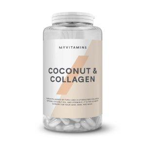 改善肤色 瘦身减肥,令皮肤光滑细腻胶原蛋白椰子油胶囊