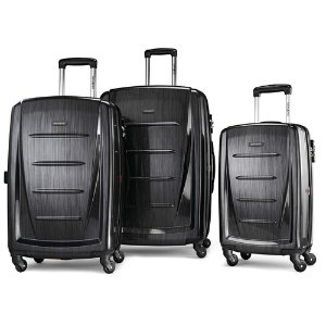 Dealmmon Exclusive!11.11 Exclusive: Samsonite Winfield 2 Fashion Hardside 3 Piece Spinner Set