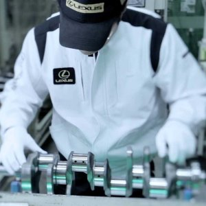 Lexus 6万小时工匠纪录片上线10,000小时可算专家 60,000小时才成匠人