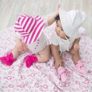 7折+额外7.5折Zutano 宝宝纱布包巾、小毯子特卖 平价好货