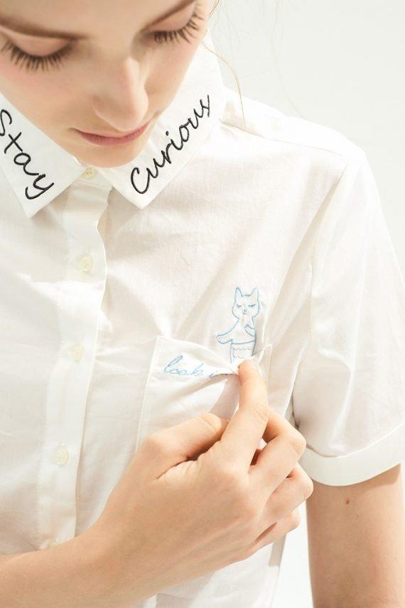 Pocket Cat 口袋猫咪衬衫