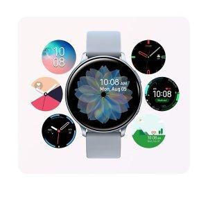 Samsung送10000mAh充电宝Galaxy Watch Active2 (40mm) 智能手表