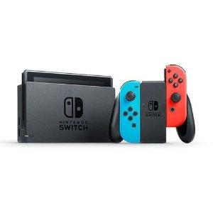 $379 (原价$469)回国可退税,随时断货Nintendo Switch 任天堂游戏机  送底座配件