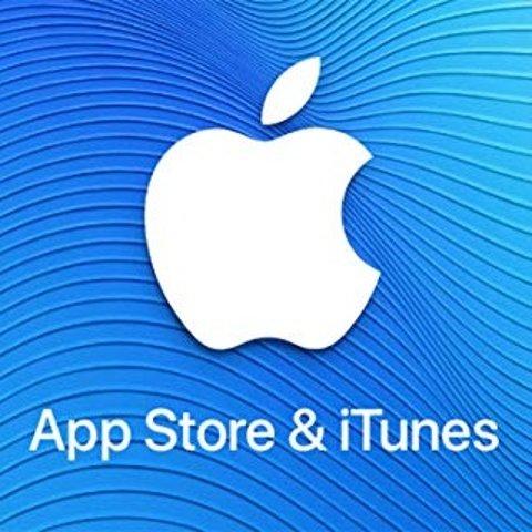 9折 任意充值卡都享苹果商城礼卡限时特惠 App Store & iTunes 通用