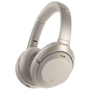 $399.99(原价$449) 30小时不停歇Sony WH1000XM3 无线降噪耳机 充电10分钟 续航5小时