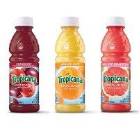 橙子、葡萄柚及蔓越莓口味果汁 24瓶