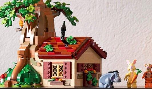 LEGO  Ideas系列—小熊维尼 21326LEGO  Ideas系列—小熊维尼 21326