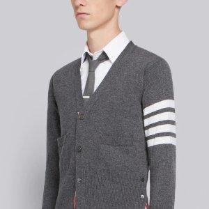 一律8折 衬衫仅£200!折扣升级:Thom browne 学院风大促 收经典衬衫、包包