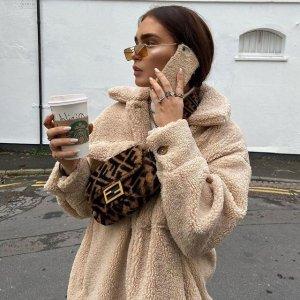 6折起+额外9折 泰迪外套仅£24即将截止:Missguided 秋季美衣应季闪促 秋季穿衣指南