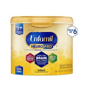 Amazon Enfamil NeuroPro Baby Formula Milk Powder, 20.7 Ounce (Pack of 6)
