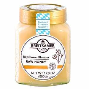 $7.59Breitsamer Creamy Honey in Jar, Rapsflower, 17.6 Ounce