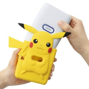 搭配皮卡丘硅胶保护套一起出售富士 x Nintendo任天堂联名 精灵宝可梦口袋打印机 太可爱了叭!