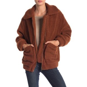 ElodieFaux Shearling Jacket