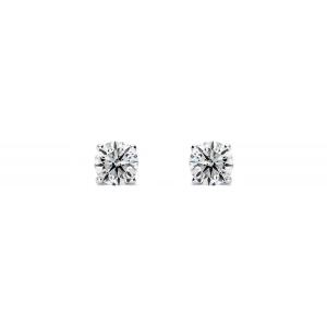 独家:SuperJeweler 白金1/4钻石耳钉热卖