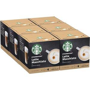 Starbucks拿铁 DOLCE GUSTO 6条72颗