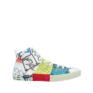 Maison Margiela涂鸦帆布鞋