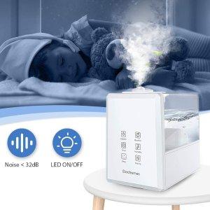 折后€54.49 带有遥控器Elechomes 加湿器热促 可设定湿度值 冷暖两种雾气