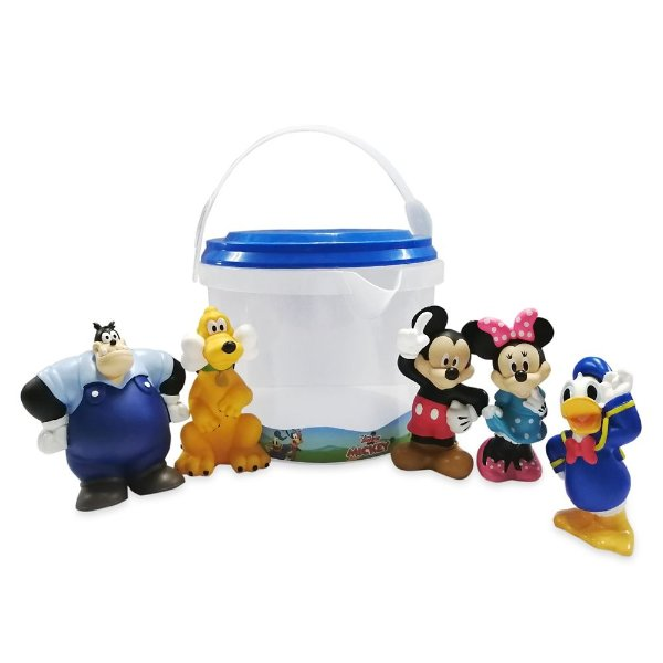 Mickey Mouse 玩偶系列洗澡玩具