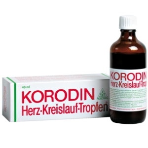 Korodin 德国心血管循环保健口服液 促进心血管循环
