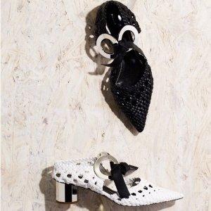 低至2.5折+额外8折 收多款小众美鞋Moda Operandi 美鞋专场,$220收Proenza Schouler穆勒鞋