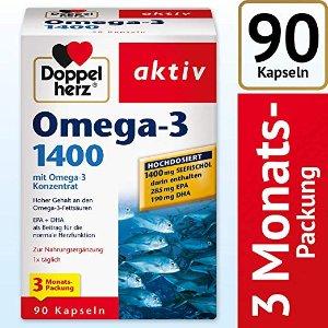 双心 Omega 3 深海鱼油 1400毫克版本 好价热卖