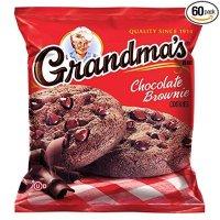 Grandma's 巧克力布朗尼曲奇 2.5oz. 60包装