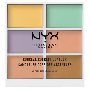 NYX Professional Makeup6色遮瑕盘