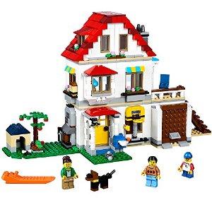 $49.99 (原价$69.99)史低价:LEGO 创意百变系列三合一家庭别墅