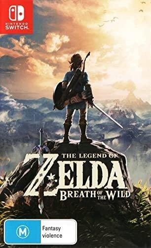 《塞尔达传说:荒野之息》 - Nintendo Switch 实体版