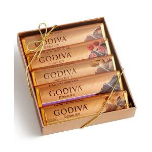 Godiva巧克力5条装