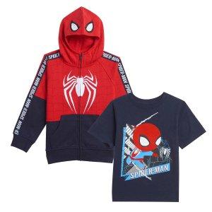 SPIDER-MAN截止到9/17小童蜘蛛侠2件套