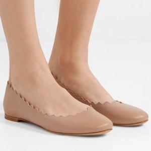 £245.83 多色可选Chloe 经典花瓣平底鞋热卖
