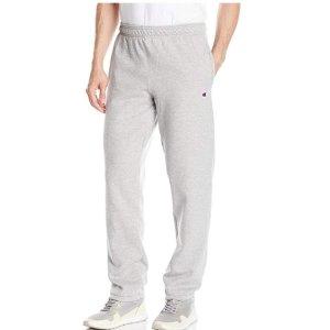 $14Champion Men's Powerblend Relaxed Bottom Fleece Pant