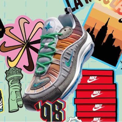 new product 88a6b 4d244 Air Max 98 On Air  NYC   FinishLine  200+Free Shipping - Dealmoon