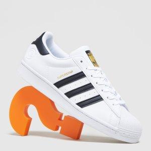 adidas Originals满£100享8折Superstar金标小白鞋