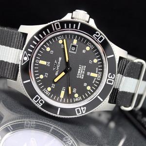 独家 $399 (原价$1450)GLYCINE Combat Sub 系列潜水风格机械男表 热卖中