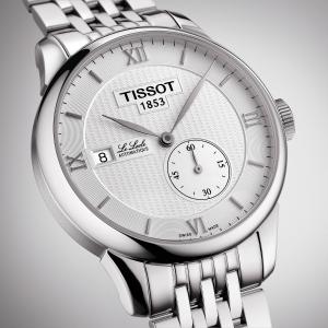 额外减$40 $299.99+包邮史低价:Tissot 经典力洛克机械男表