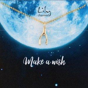 全场9.5折 £33收鹿角项链Lily Charmed 全场热卖 古灵精怪的小众平价首饰