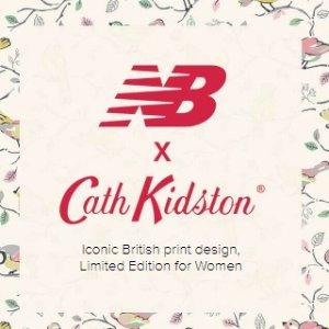 £40起 设计师开心就好系列New Balance x Cath Kidston 合作款上市 惊现乡村运动风
