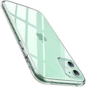 AINOPE iPhone 11 防摔软硅胶 透明水晶 手机壳