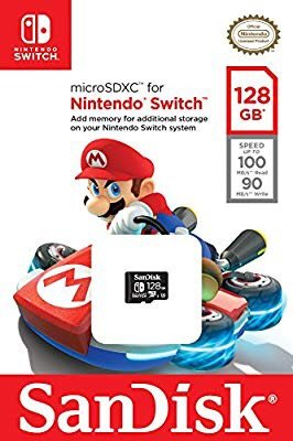 SanDisk 128GB microSDXC UHS-I card for Nintendo Switch 内存卡