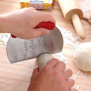 XoYoZo 不锈钢面团刮板 刮刀