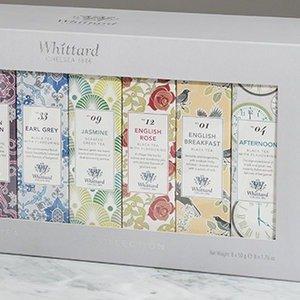 独家8折Whittard 官网茶叶8种口味礼盒热卖