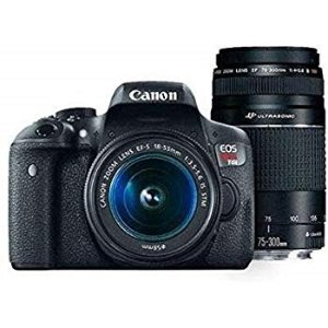 Canon EOS Rebel T6 + 18-55mm & EF 75-300mm Lens