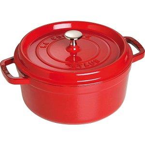 Staub铸铁锅, 24 cm, Red
