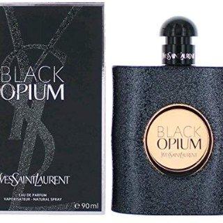 Yves Saint Laurent Eau De Parfum Spray for Women, Black Opium, 3 Ounce @