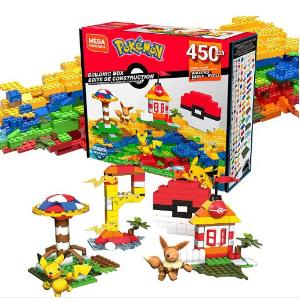 $33.99(原价$39.99)Mega Construx 宠物小精灵450块拼搭大套盒 创意无限 皮卡皮卡