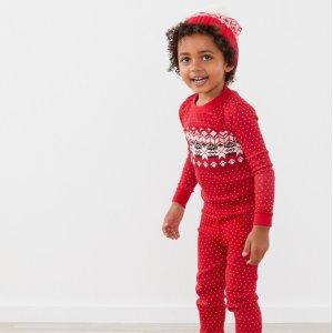 3折起Hanna Andersson 童装促销区热卖,有机棉睡衣不到$15一套