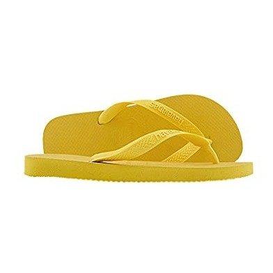 Unisex 芒果色拖鞋