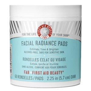 First Aid Beauty乳酸 乙醇酸棉片 (60 Pads)